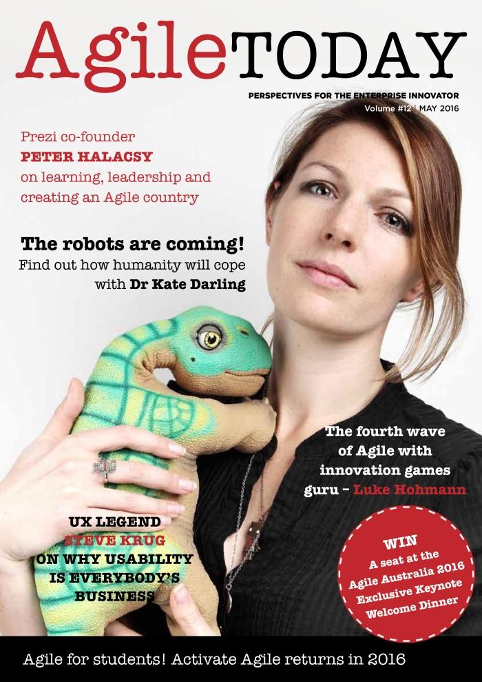 AgileToday cover